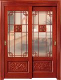 贅沢なチークの木製の両開きドアデザイン(CL-2047)
