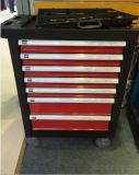 Резцовая коробка металла 7 ящиков, вагонетка инструмента металла, вагонетка инструмента