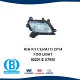 Hyundai KIA K3 2014 Cerato поставщика противотуманной фары