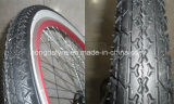 Kinder Bike Tyre Black mit White Side Wall