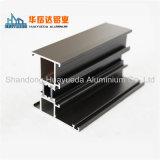 Le guichet en aluminium sectionne le profil en aluminium enduit par poudre