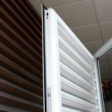 Fenêtre à charnière en aluminium à revêtement thermique en poudre populaire pour bâtiments commerciaux et résidentiels