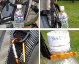 Gancho ao ar livre por atacado da garrafa de água da trouxa com compasso