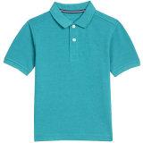 """Grandes"""" Short-Sleeve Deck Stretch camisa Polo com logotipo Bordado"""