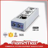 La comida caliente/Pantalla Warmer escaparate de tienda de hardware (HW-580)