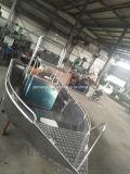 21pies de la Pesca Marítima de Cruceros soldadas de aluminio botes con motor de la junta