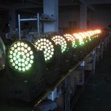 36X18W Rgbawuv etapa LED Discoteca moviendo la cabeza con el zoom