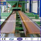 Macchina di granigliatura del trasportatore a rulli per gli acciai per costruzioni edili