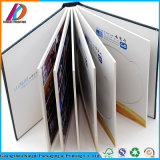Impressão bonita colorida do livro da foto do Hardcover, álbum das pinturas, livro autógrafo