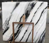 Marmo di marmo bianco di bianco di Guobao della corrispondenza di libro della lastra del panda