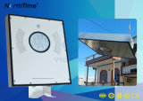 4-Rainy-Days el tiempo de descarga de la luz del sensor de movimiento LED lámpara solar calle