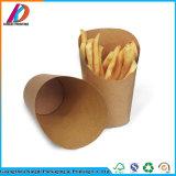 처분할 수 있는 Kraft 종이 감자 튀김 국자 컵