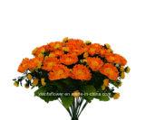 Plástico/Artificial/flores de seda crisantemo Bush (10539-33)