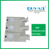 Luz ao ar livre solar Integrated 20W do diodo emissor de luz do fabricante da fábrica de China