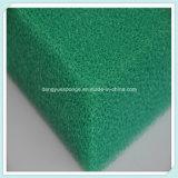 Los colores de ligero y transpirable de célula abierta de espuma de filtro de esponja PU