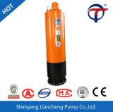 O uso de água e de alta pressão da bomba de esgoto fecal
