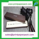 Cadre de papier de bijou estampé par logo fait sur commande fabriqué à la main de luxe/cadeau/boucle/collier