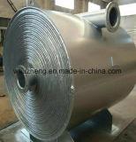 Placas de espiral de aço carbono trocador de calor, aquecimento de ar de refrigeração ou trocador de calor de óleo