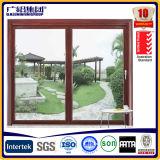 Perfil deslizante Australia Standard Marrón Color de ventanas de aluminio