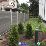 판매를 위한 옥외 주문을 받아서 만들어진 자유로운 정비 발코니 WPC 정원 담