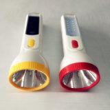 Al aire libre de mano de la energía solar de batería LED Linterna Proveedores