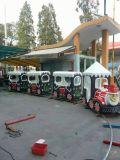 子供の遊園地装置の電車のクリスマスの電車(HD17-251A)