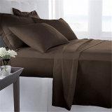 Weiche mögen Bett-Blatt des ägyptische Baumwollkönig-Size Microfiber