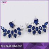 La Chine usine fabricant de gros de bijoux de zircone Earrings