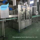 Machine de remplissage de bouteilles d'animal familier/3 à 1 installation de mise en bouteille de l'eau minérale d'élément