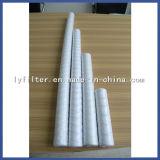 40 pulgadas filtro de la herida de la cadena del cartucho de filtro de agua del hilado de 5 PP del micrón