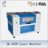 Небольшой станок для лазерной гравировки Jq4030 для металлических материалов гравировки и резки