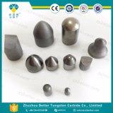 Законченный кнопки цементированного карбида