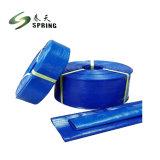 Boa qualidade de serviço pesado de irrigação de PVC de 6 polegadas fixar a mangueira plana