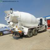 Sinotruk 4X2 5m3 6m3の小さいコンクリートミキサー車の具体的なミキサーのトラック