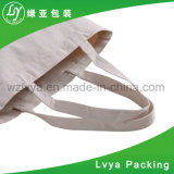 Naturais brancos ou colorem do algodão o saco 100% de Drawstring com cópia