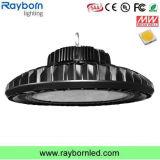 Lampada industriale della baia del UFO LED del sensore di movimento 140lm/W 200W alta