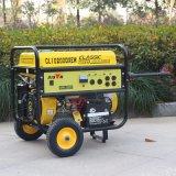 バイソン3kw無声携帯用電気ガソリン発電機