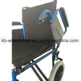 Venta caliente, artículo, sillón de ruedas manual de acero