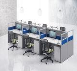 現代コンピュータ表のオフィスワークステーション、モジュラー事務机(SZ-WS123)