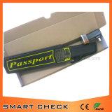 パスポートの手持ち型の金属探知器の小さい金属探知器