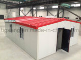 Camera facile di Prebuilt dell'installazione di basso costo con la struttura d'acciaio chiara