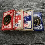 Poker Juegos de cartas personalizadas con el cuadro de Tuck