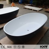 Искусственным мрамором белого камня дешевые отдельно стоящая ванна для продажи