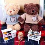セーターが付いているカスタマイズされたテディー・ベアのおもちゃ