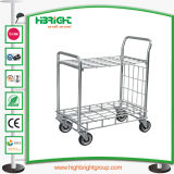 4 Rodas Carrinho de carga do armazém de serviço pesado de transporte a plantadeira