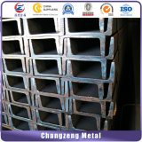 Chapas laminadas a quente em aço galvanizado Leve o canal em U