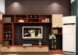 Unidad de televisión de la superficie de madera
