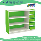 Multi-Functional School White Painting Wooden Toys Cabinet (HG-5503)