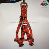 調節可能なロゴによって印刷されるSの子犬ペットナイロン犬の馬具