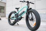 脂肪質のタイヤの電気自転車強力なモーターを搭載する26インチ